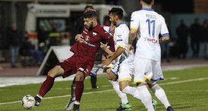 Trapani-Frosinone 1-4: Guerrieri regala i tre punti ai ciociari
