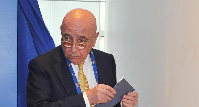 Lega: Galliani presidente per evitare il commissario