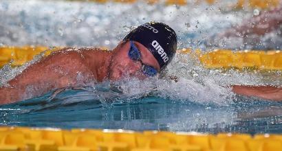 Nuoto, Assoluti 2017: tris Detti, in 20 ai Mondiali