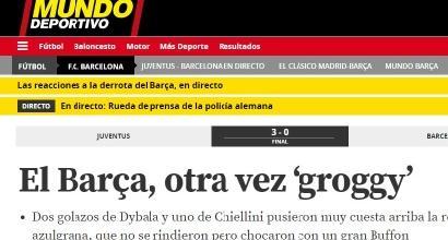 Champions, Juve-Barcellona: le reazioni dei quotidiani spagnoli