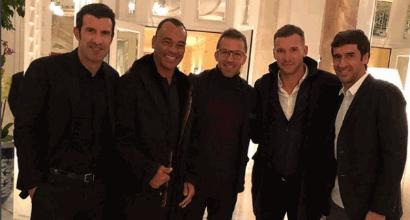 """Quando Del Piero ritrova alcuni amici: """"La squadra di calcetto è fatta"""""""