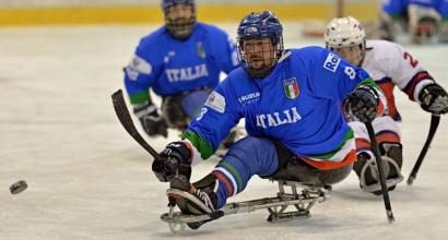 """Paralimpiadi 2018, l'hockey su ghiaccio vuole la medaglia: """"Possiamo farcela"""" - SCOPRI GLI AZZURRI: VIDEO"""