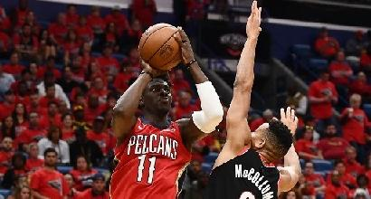 Nba: Davis e Holiday fanno paura, New Orleans prima semifinalista a Ovest