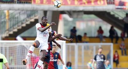 Il Benevento sorride: battuto il Genoa