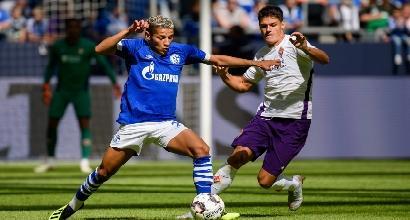 Fiorentina, pesante sconfitta in amichevole con lo Schalke: 0-3