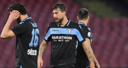 Lazio, Acerbi espulso: si fermerà dopo 149 partite di fila