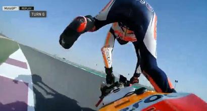 MotoGP, Marquez resta leader in FP3