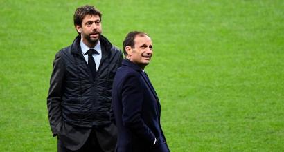 """Juve, domani il vertice tecnico-presidente: """"Allegri rimane, poi dipende da lui"""""""