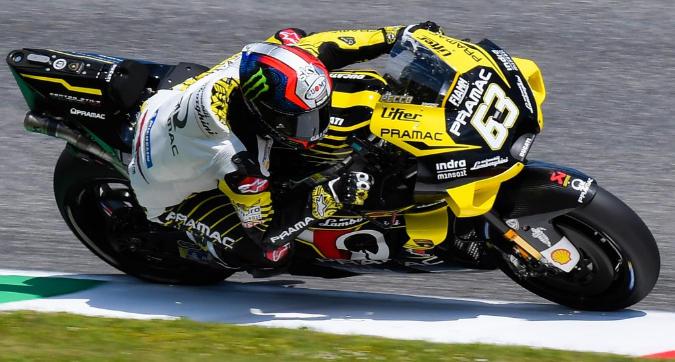 MotoGP, exploit Bagnaia in FP2