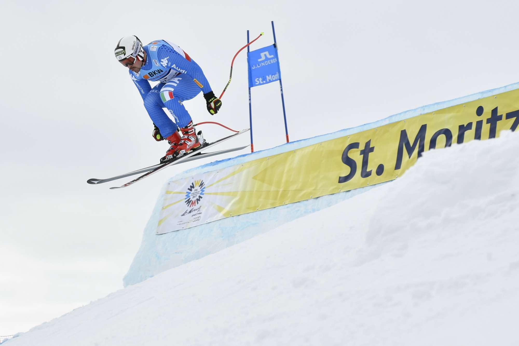 Nel Super G di St. Moritz, male gli azzurri Paris e Fill