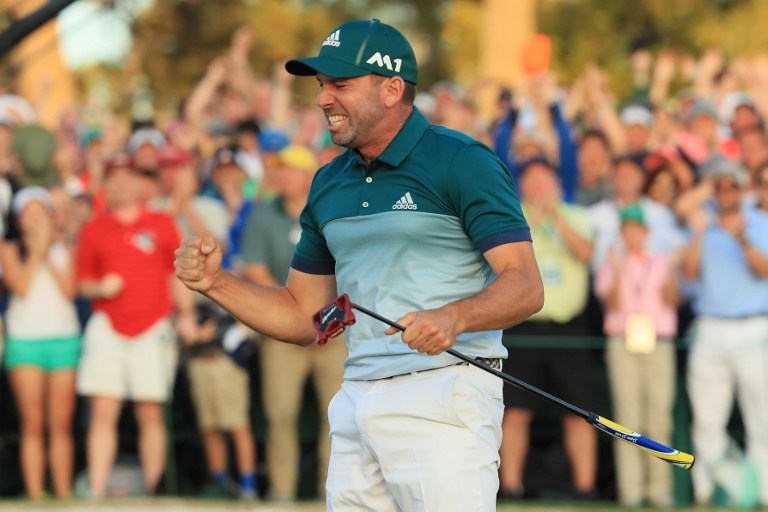 Golf, Garcia trionfa all'Augusta Masters