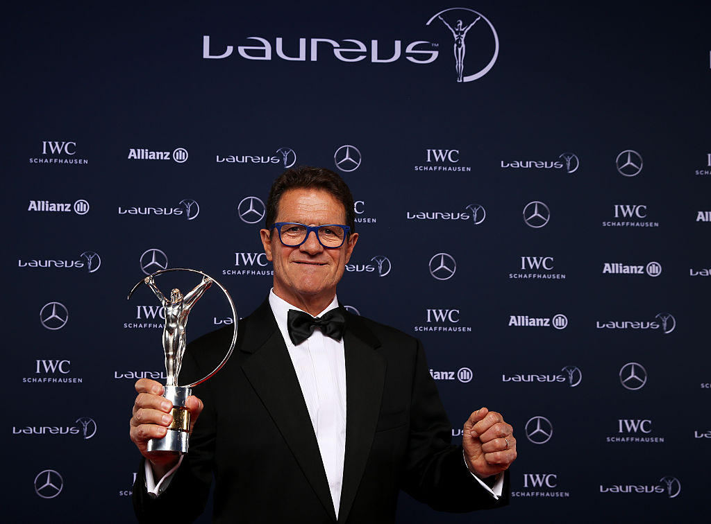 Premio allenatore alla carriera - Fabio Capello