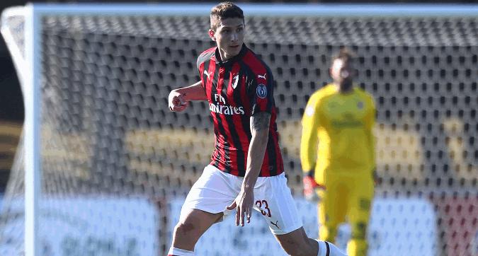 Milan, 2-0 al Chiasso: si rivede Caldara