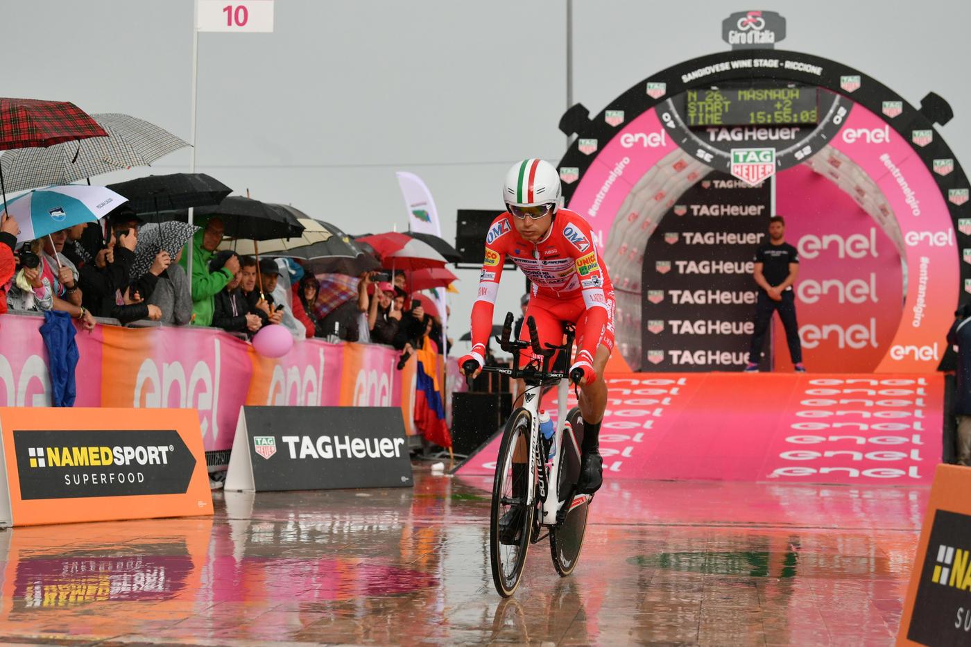 Lo sloveno vince la cronometro di San Marino. Nibali tiene