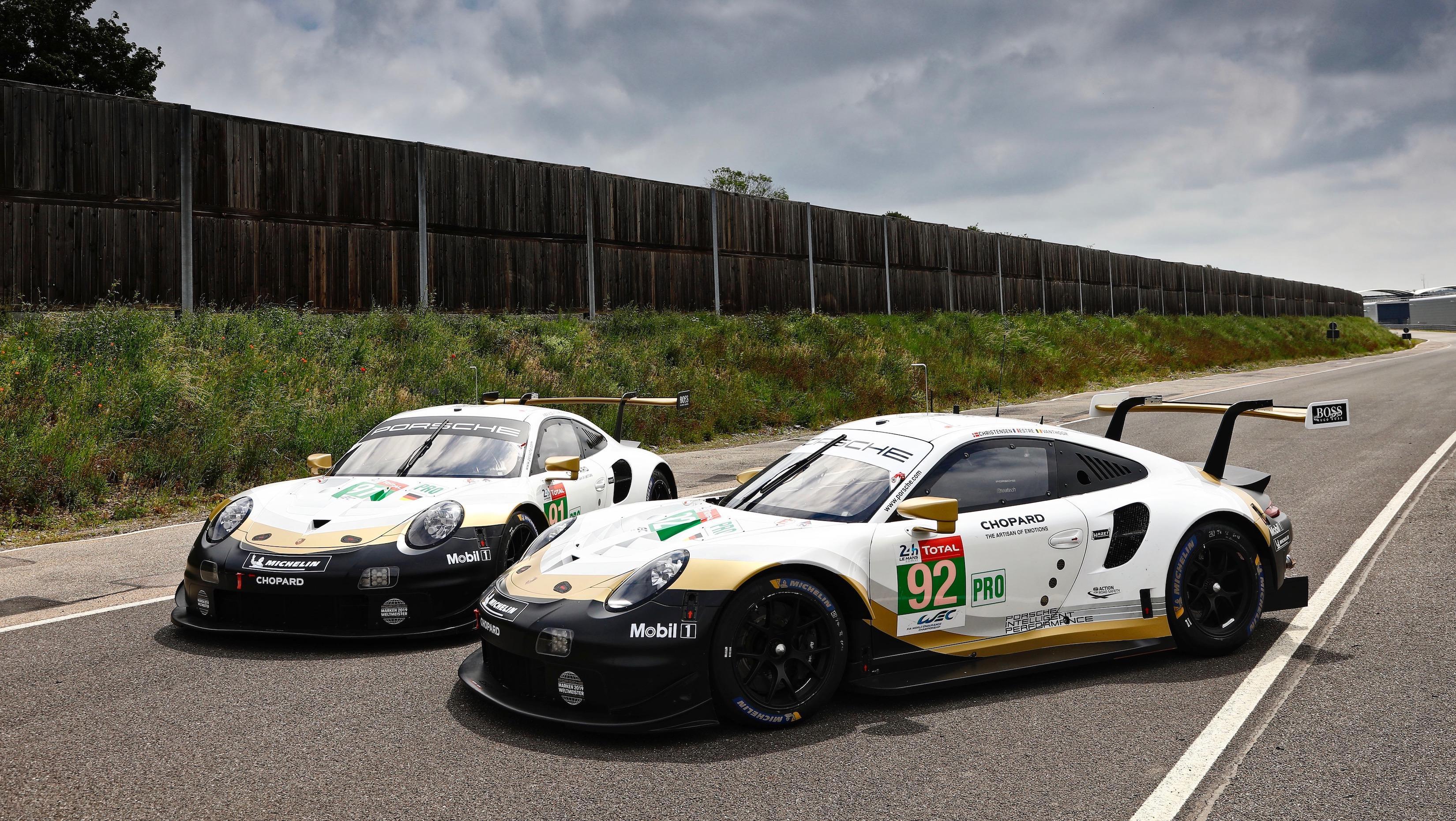 Svelate le livree GT delle 911 RSR per la 24 Ore più famosa<br /><br />