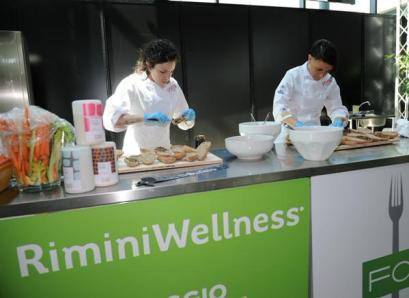 Non solo sport, a RiminiWellness la salute vien mangiando