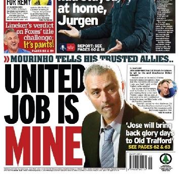 """Mourinho agli amici: """"Vado allo United"""""""