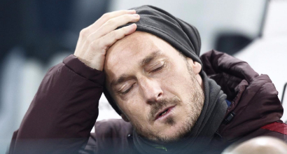 """Totti, una resa amara: """"Io non conto più niente"""""""