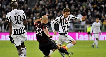Serie A: Milan-Juve sabato 9 aprile