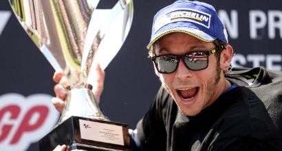 "MotoGP al Montmelò, Rossi: ""Ho voluto onorare Salom"""