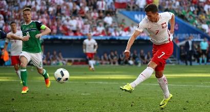 Euro 2016: la Polonia parte forte