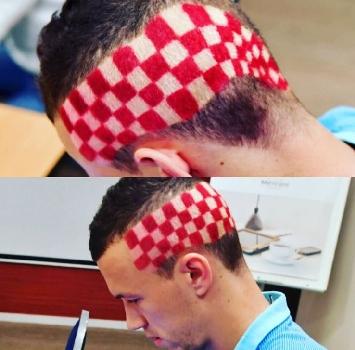 Euro 2016, nuovo look per Perisic: capelli con la bandiera croata