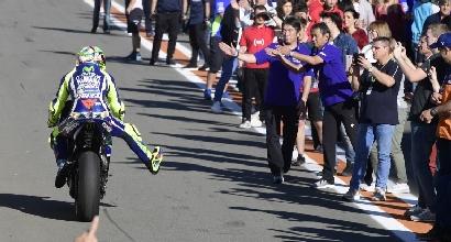 """MotoGP, Rossi: """"Che sorpassi con Iannone"""""""