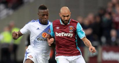 Juventus, il West Ham scarica Zaza: niente obbligo di riscatto