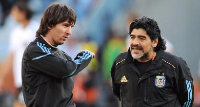 Maradona attacca Messi: