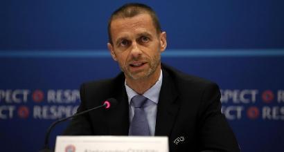 """Uefa, Ceferin sta con Collina:""""Non si tocca"""""""