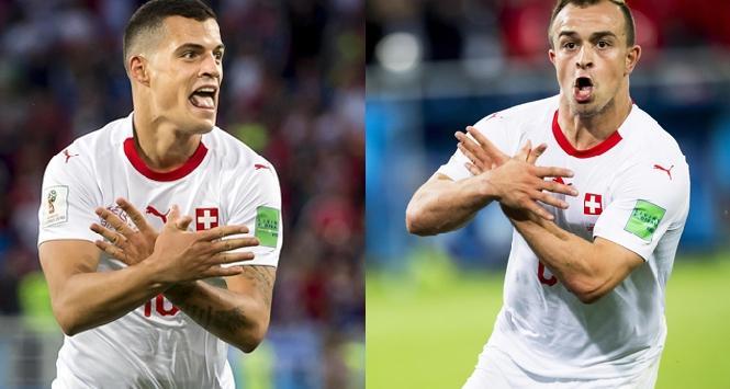 Esultanza con l'aquila ai Mondiali: Xhaka e Shaqiri, messaggio ai serbi. La Fifa medita sanzioni