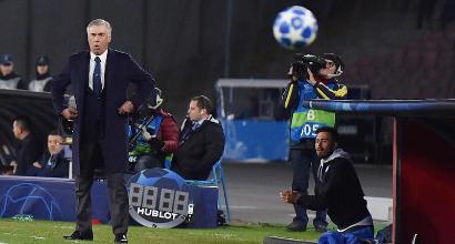 Per il Napoli un altro derby d'Italia in... albergo. E Ancelotti rispolvera la maglia di Mazzola