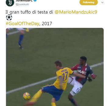 Juve, è una giornata di gaffe: come ha segnato Mandzukic?