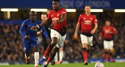 FA Cup, ottavi: Herrera e Pogba stendono Sarri, lo United passa 2-0 a Stamford Bridge