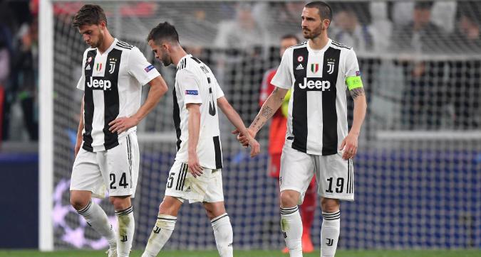 La Juventus è soltanto forte, e per questo è fuori dalla Champions