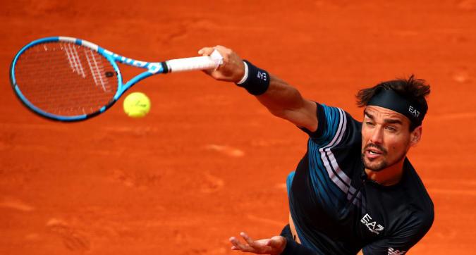 Tennis, Roland Garros: Fognini fuori, Zverev rimonta in quattro set