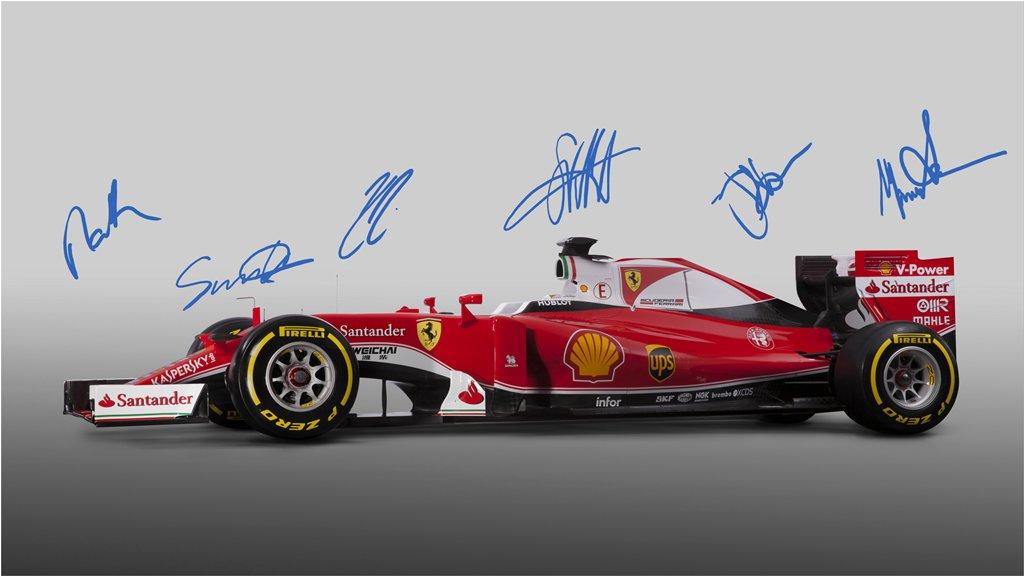 F1, presentata la nuova Ferrari: è la SF16-H