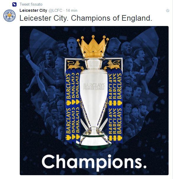 Il Leicester è campione