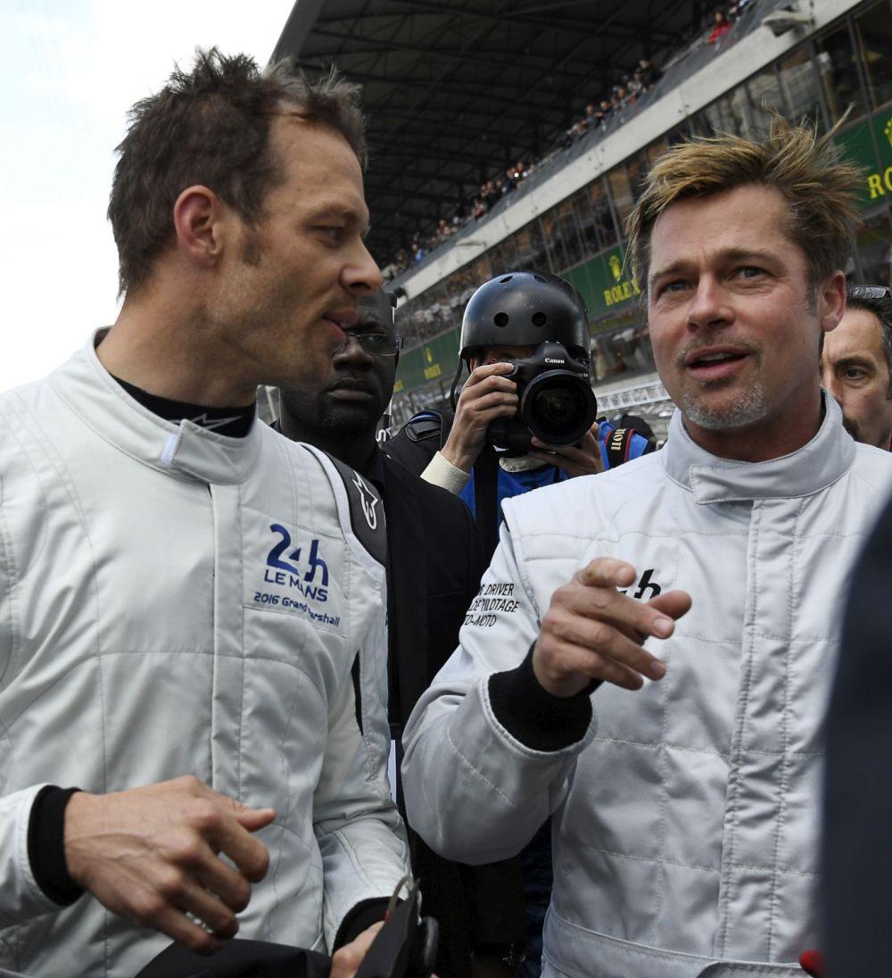 24 Ore di Le Mans, Brad Pitt scende in pista