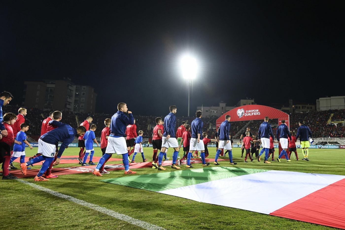 Nazionale, Albania-Italia 0-1: decide Candreva