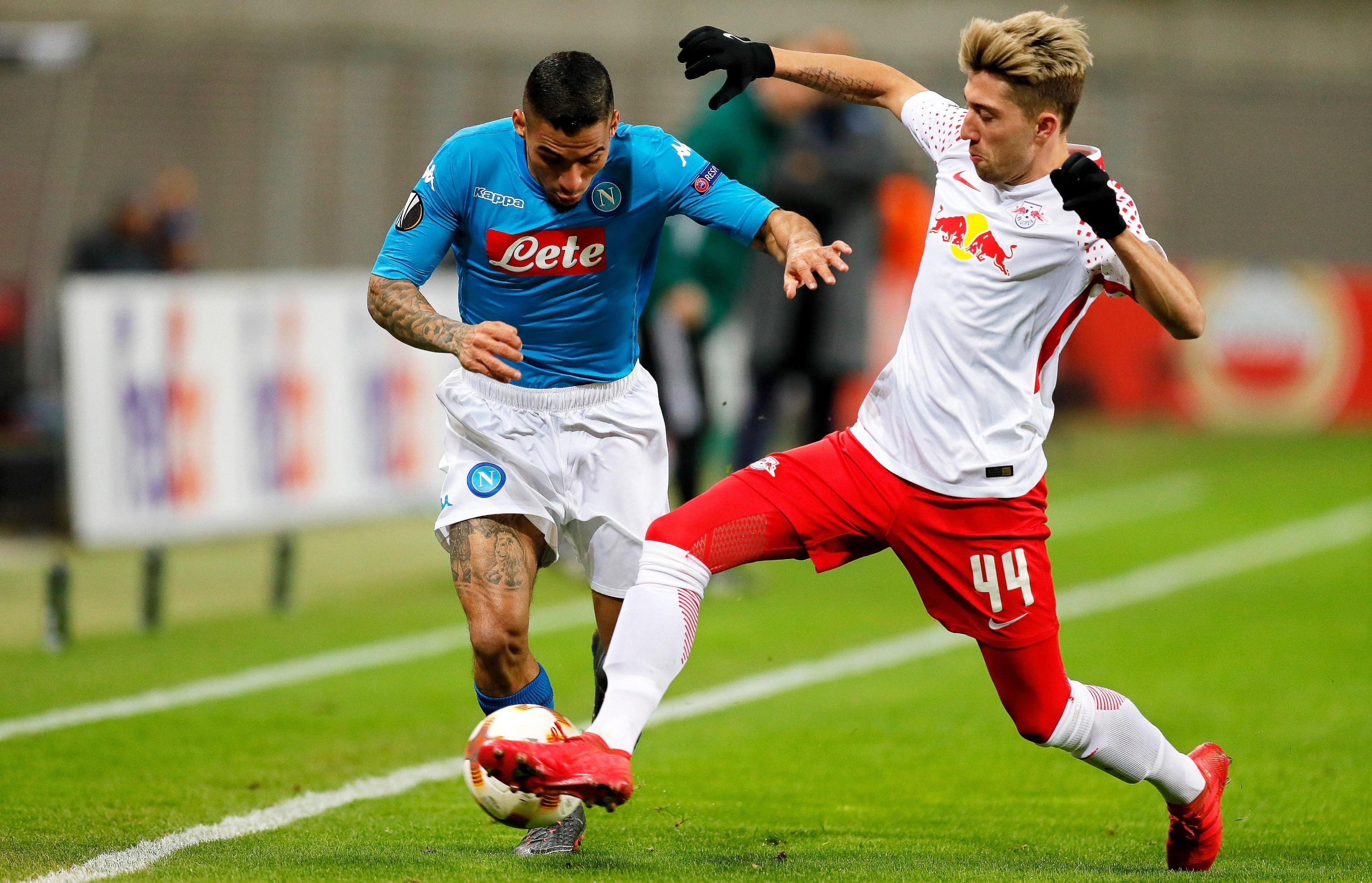 Europa League: Napoli, rimonta solo sfiorata