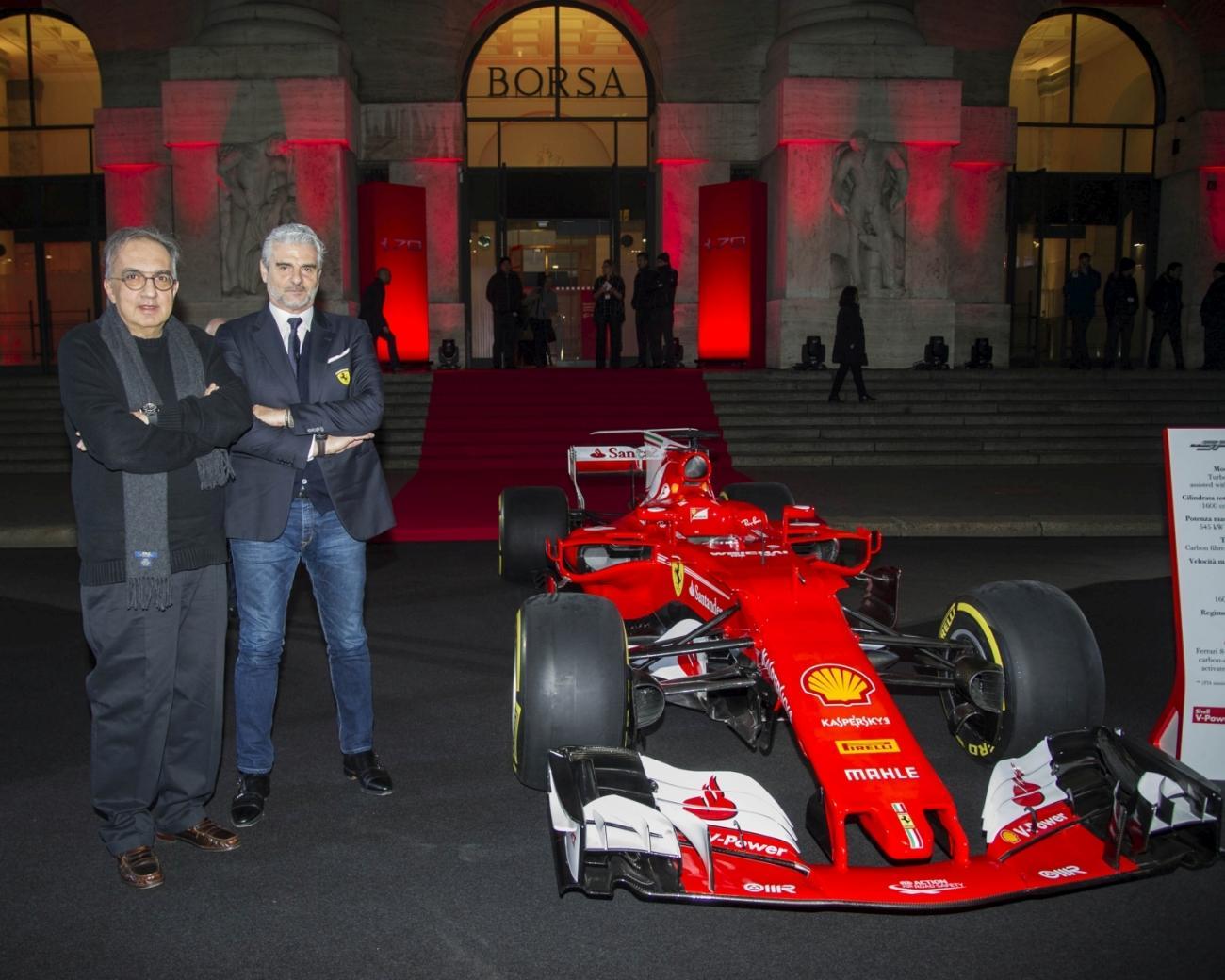 Sergio Marchionne, passione Ferrari