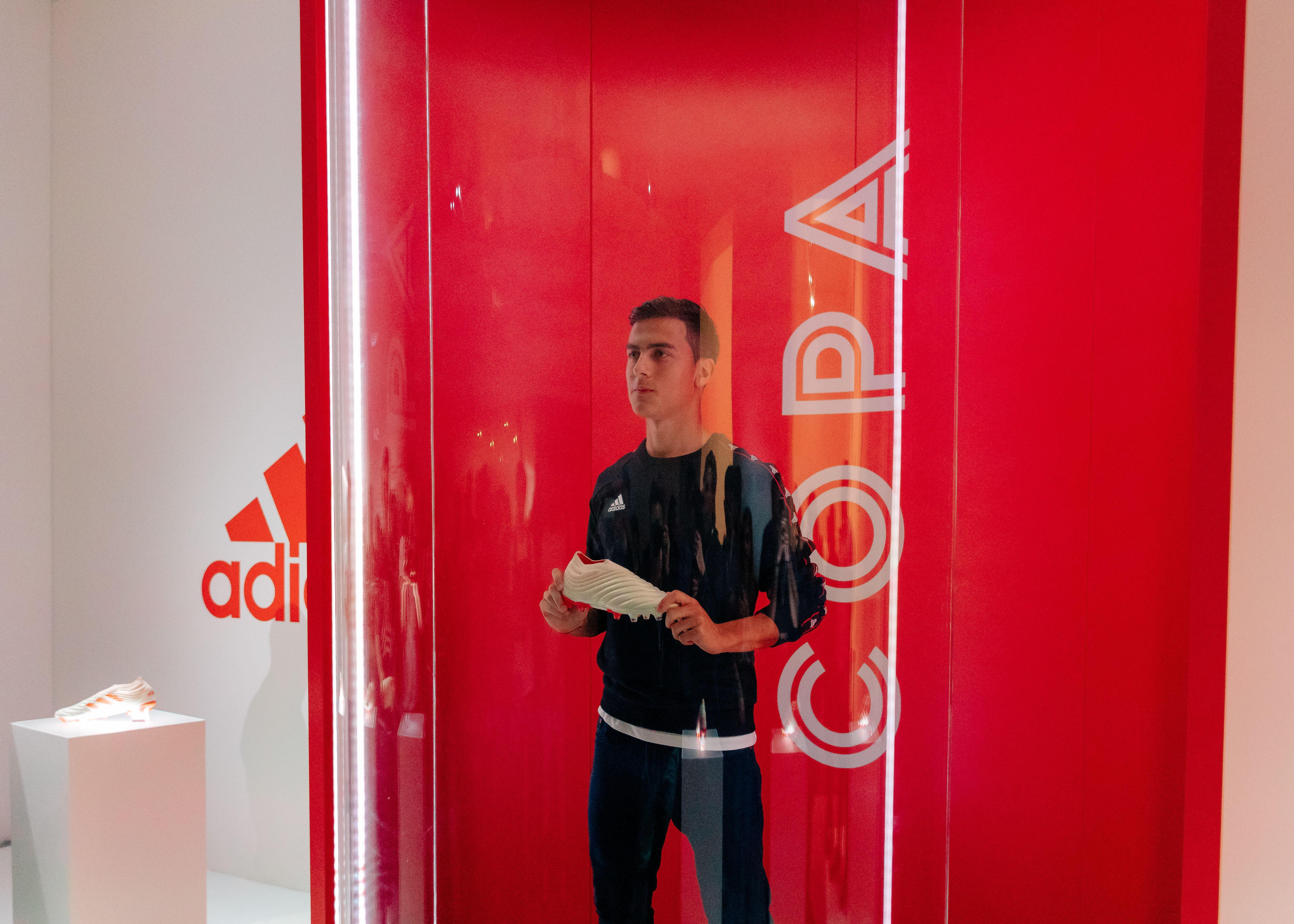 Paulo Dybala e le sue nuove scarpe da calcio