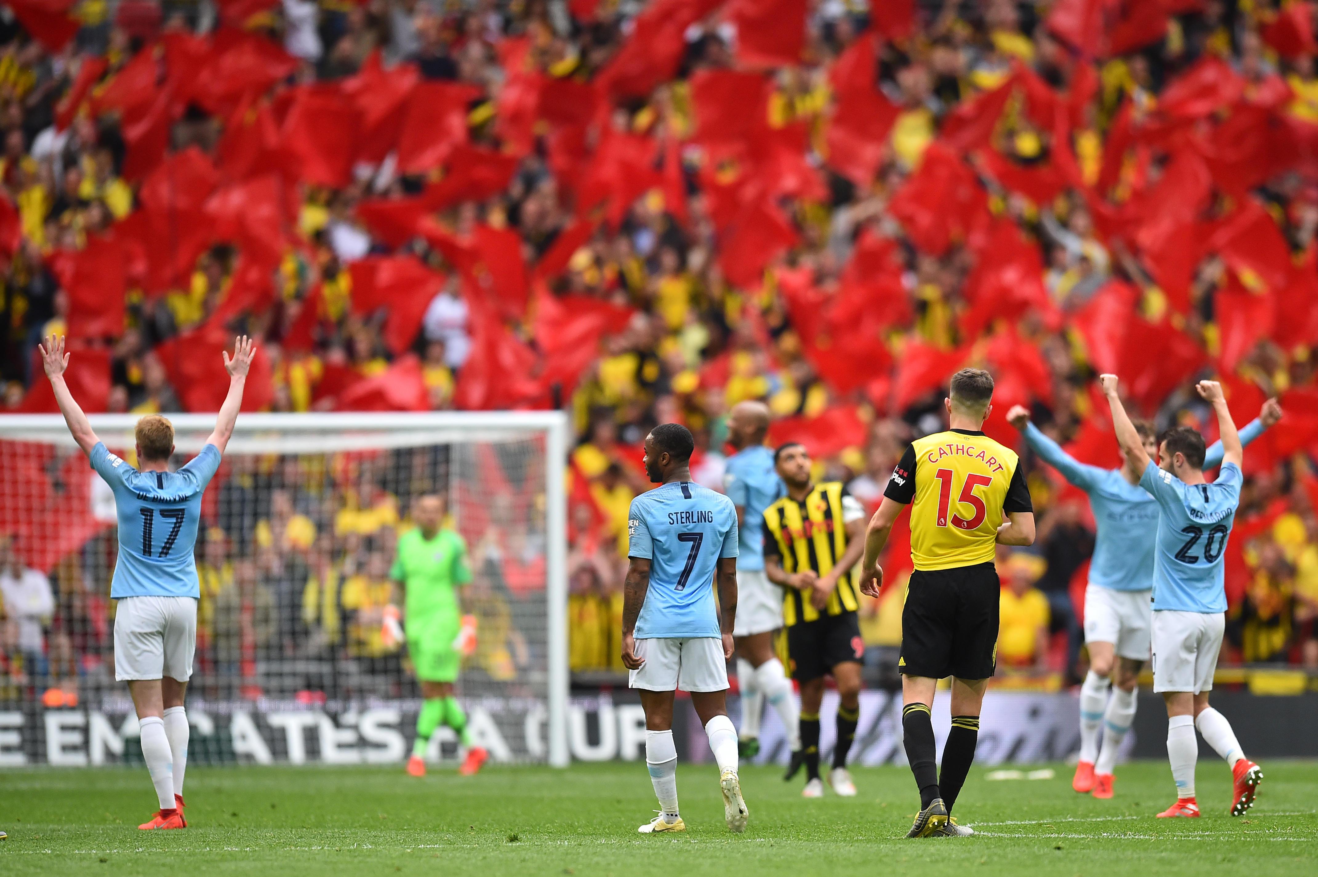 La squadra di Guardiola demolisce il Watford: 6-0