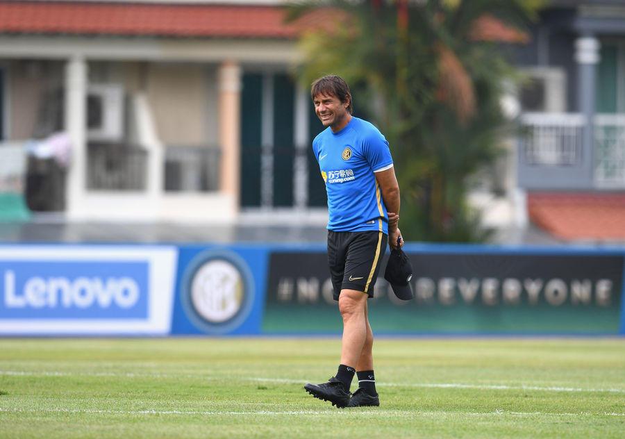 L'Inter al lavoro nella tournèe asiatica