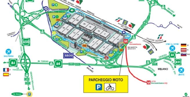 Fiera Milano Rhò come arrivare