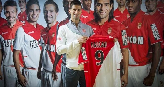 Monaco: Djokovic tifa Falcao