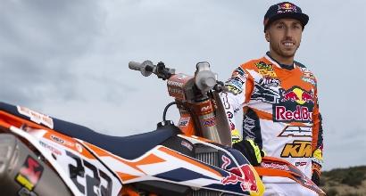 Motocross, Cairoli rinnova con Ktm fino al 2018