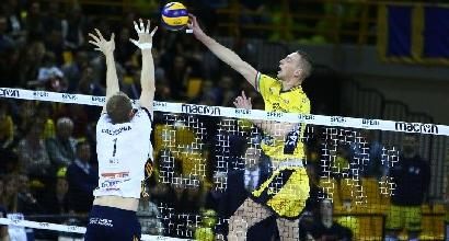 Volley, Playoff SuperLega: Modena passa a Verona e fa 1-1