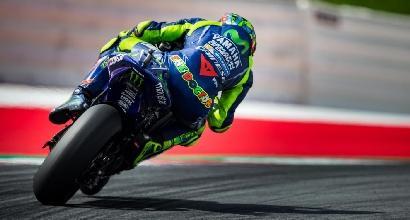 "MotoGP Silverstone, Rossi: ""L'obiettivo è restare sempre là davanti"""